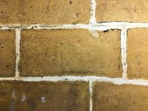 A vintaged brick wall Royalty Free Stock Photography