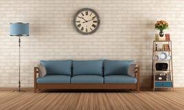 Vintange living room Stock Photo