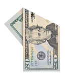 Vinte dólares de conta Foto de Stock