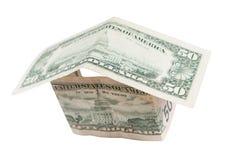 Vinte dólares de conta Fotografia de Stock Royalty Free