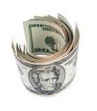 Vinte dólares de conta Fotos de Stock Royalty Free