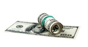 Vinte dólares de conta Imagem de Stock Royalty Free