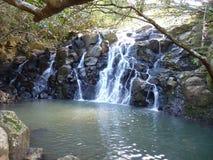 Vinte e três cachoeiras coloridas da terra Imagens de Stock