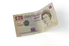 Vinte libras imagem de stock royalty free