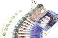 Vinte libras isoladas Imagem de Stock Royalty Free