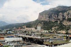 Vintemiglia border panoramic view Royalty Free Stock Image