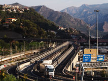 Vintemiglia border Royalty Free Stock Photography