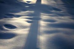 vinter för bakgrundsvägsnow royaltyfri bild