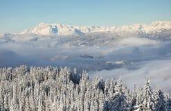 vinter för berg för banskobulgaria liggande Royaltyfri Bild