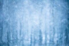 vinter för blåa snowflakes för bakgrund vit Arkivbild