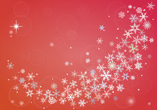 vinter för blåa snowflakes för bakgrund vit Arkivfoton
