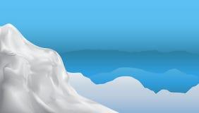 vinter för caucasus georgia gudauriberg Stock Illustrationer