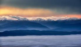 vinter för caucasus georgia gudauriberg Royaltyfri Foto