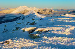 vinter för caucasus georgia gudauriberg Arkivbild