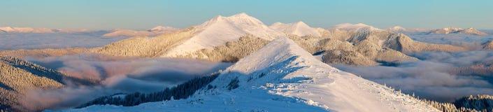 vinter för caucasus georgia gudauriberg Fotografering för Bildbyråer