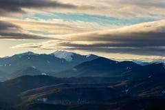 vinter för caucasus georgia gudauriberg Arkivbilder