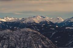 vinter för caucasus georgia gudauriberg Arkivfoto