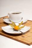 vinter för Cherrykaffekopp Arkivbild