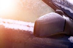 vinter för eps-townvektor Arkivbilder