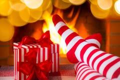 Vinter för ferie för julXmas-familj Royaltyfria Bilder