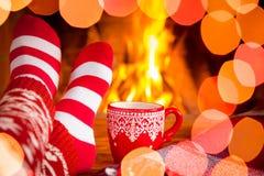 Vinter för ferie för julXmas-familj Fotografering för Bildbyråer
