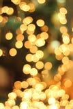 Vinter för nytt år för ferie för cirkelgulingfestmåltid Arkivbilder