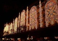 vinter för shopping för julparis säsong Arkivbilder