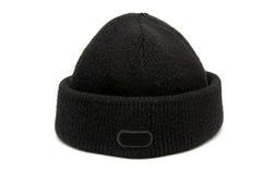 vinter för svart hatt Fotografering för Bildbyråer