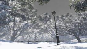 vinter för trädgård för bakgrundsskönhetdesign din snöig Royaltyfria Foton
