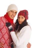 vinter för vänner två arkivfoton