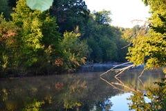 vinter för vatten för flod för kustisliggande Royaltyfri Foto