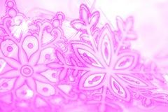 vinter för vektor för bakgrundsillustrationsnowflakes Arkivfoton