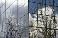 Vinter för WarnerCenter kontorsbyggnad 32 Royaltyfri Fotografi