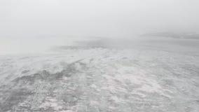 vinter f?r berg f?r banskobulgaria liggande stock video