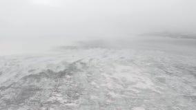 vinter f?r berg f?r banskobulgaria liggande lager videofilmer
