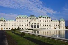 Vinter i Österrike Royaltyfri Foto