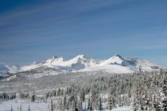 Vinter i bergen 2 royaltyfri bild