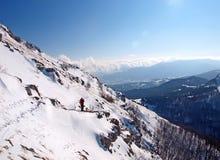 Vinter i bergen Royaltyfria Foton