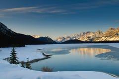 Vinter i bergen Royaltyfri Bild