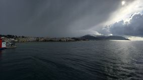 Vinter i Grekland Arkivfoton