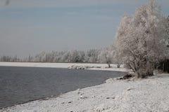 Vinter i havet Royaltyfria Bilder