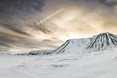Vinter i iceland Royaltyfri Fotografi