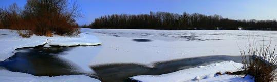 Vinter i Kieven Arkivbilder