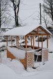 Vinter i landet Royaltyfri Foto