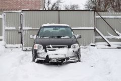 Vinter i landet Royaltyfri Bild