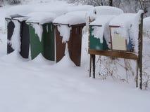 Vinter i Norge Fotografering för Bildbyråer