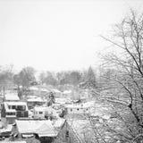 Vinter i Pittsburgh Fotografering för Bildbyråer