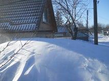 Vinter i söderna royaltyfria foton