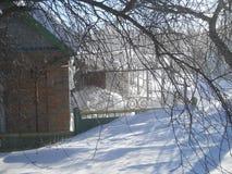 Vinter i söderna royaltyfria bilder