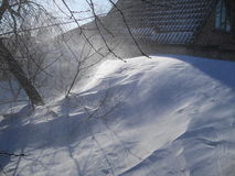Vinter i söderna royaltyfri fotografi